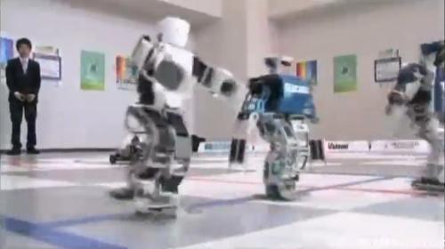 机器人跑马拉松