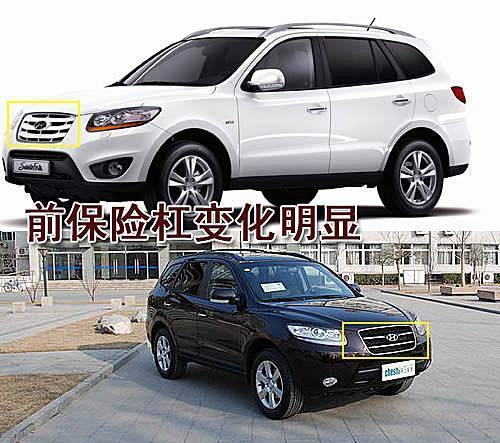 现代新胜达改款版将上市 新增R柴油发动机高清图片