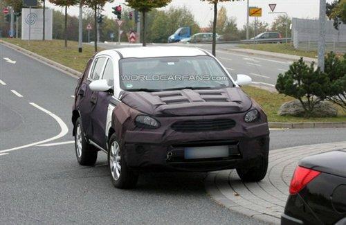 明年3月发布 新一代起亚狮跑谍照曝光 汽车之家 高清图片
