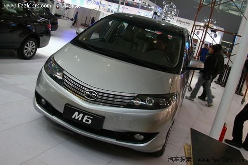 日前,从比亚迪内部传出的消息称,比亚迪首款mpv车型m6将于高清图片