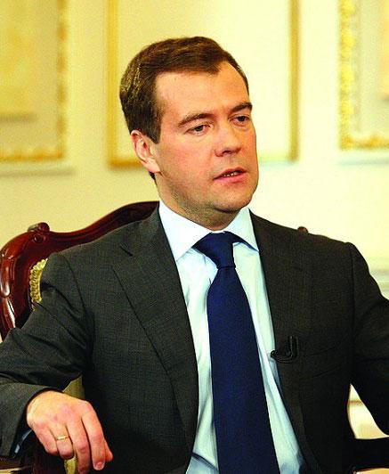 俄总统梅德韦杰夫的微博生活