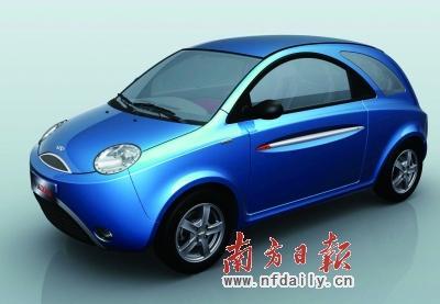 车型特点:奇瑞qqme与大众甲壳虫非常相像,尤其是前部的设计高清图片