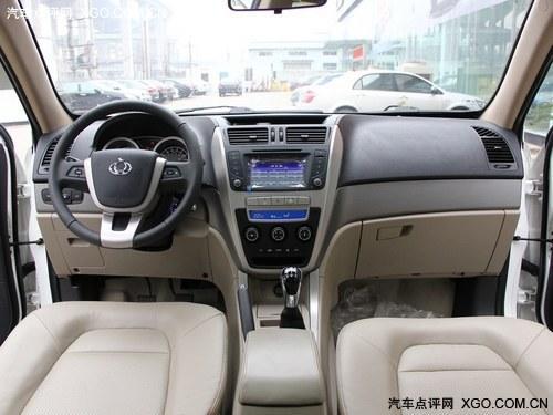 吉利全球鹰GX7内饰及细节-SC5 RV配1.3T 吉利多款车年内升级6AT高清图片