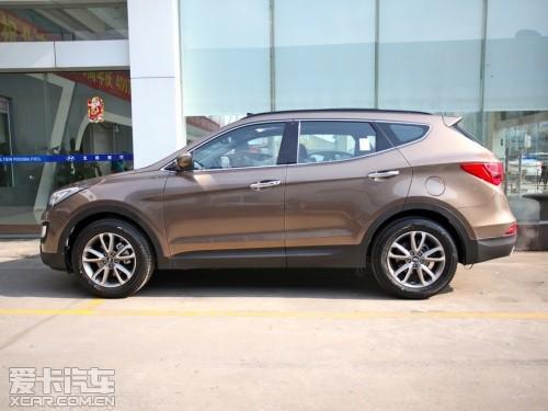【北京现代新胜达外观】 -推荐2.4 GLS四驱智能型 新胜达购车手册高清图片