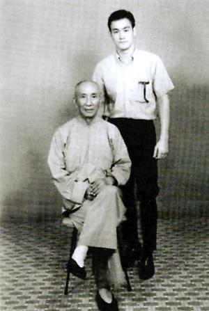 一代宗师叶问 拒绝李小龙楼换拳谱图片