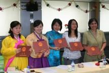 亚非国家汉语教师培训班结业式