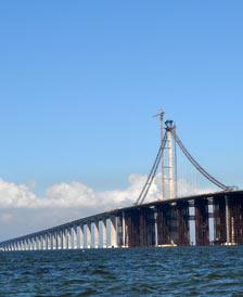<b>青岛海湾大桥大沽河航道</b>