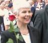 "<p>克罗地亚总理</p> <p>亚德兰卡-科索尔</p> <p>她曾是一名出色的战地记者。形象干练、灰白短发的科索尔对她的政党说,要做一名""勇敢的好主席""。</p>"