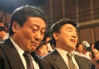 宗庆后在抗震救灾节目现场潸然泪下当场捐赠400万元