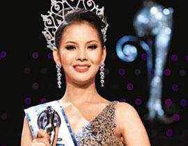 "<p>   2010年蒂芬妮环球小姐在泰国举行,赛事专为吸引世界各国变性人或自我认同为女人的男扮女装者参加。最终,20岁的""美女""娜拉达夺冠。"