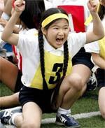 <b>日本7岁公主参加接力赛</b>