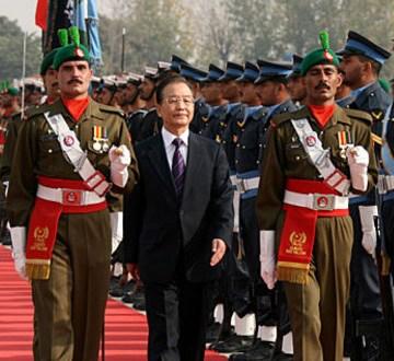 温家宝访问巴基斯坦