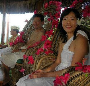 美华人赴国外海岛办婚礼蔚然成风