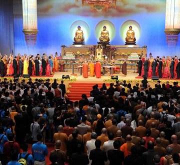 第三届世界佛教论坛香港开幕