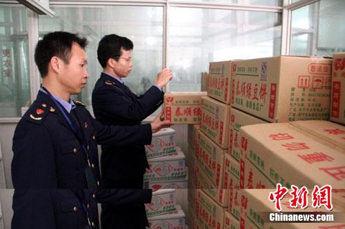江查获大型假冒食品加工厂 涉案金额16.6万