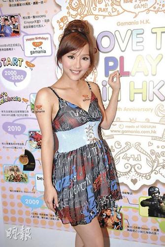 歌手妲己DADA_嫩模dada自嘲知名度不足,可在动漫节自由出入.图片来源:香港明报