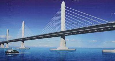港珠澳大桥主体工程将招标施工 设计耗资近3亿图片
