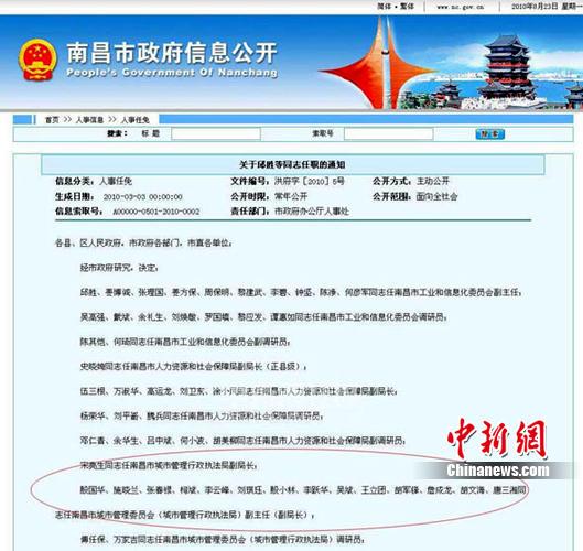 南昌城管竟设15个副局长 - 方亮 - 方亮的博客