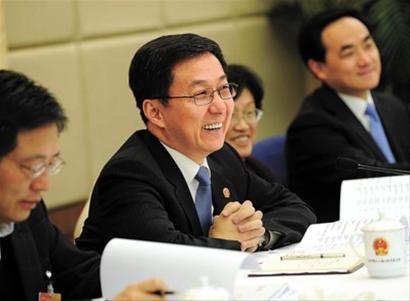 韩正:要建立全市统一平台 推进罚没款收支公开