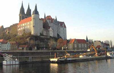 城市,拥有许多中古世纪的房子-陶瓷之乡 德国小镇麦森
