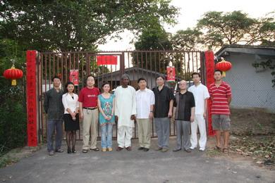 驻拉各斯总领事看望慰问拉各斯大学孔子学院师生 - 麦田守望者 - 对外汉语教学交流