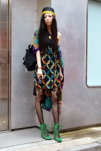 这叫非主流!东京次世代最新90后时尚街拍(组图)