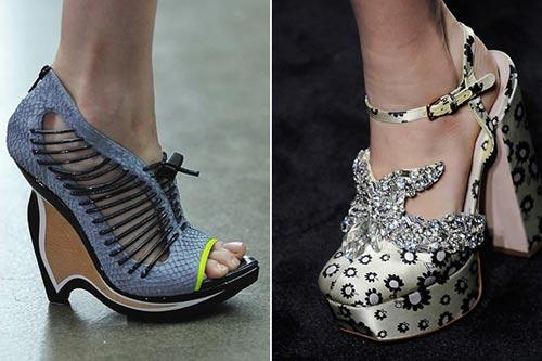 诡异!2010春夏时装周上那些不可思议的鞋(组图)