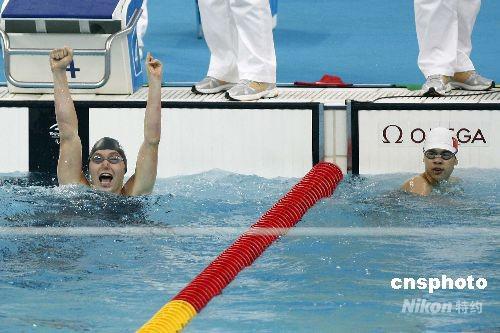 男子100米蛙泳SB9级林福荣获银牌(29银) - 永不言败 - 永不言败欢迎您