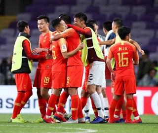 国足2:1逆转泰国晋级亚洲杯八强