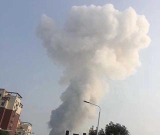 河南三门峡一气化厂发生爆炸