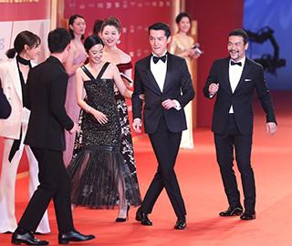 上海国际电影节开幕红毯星光熠熠
