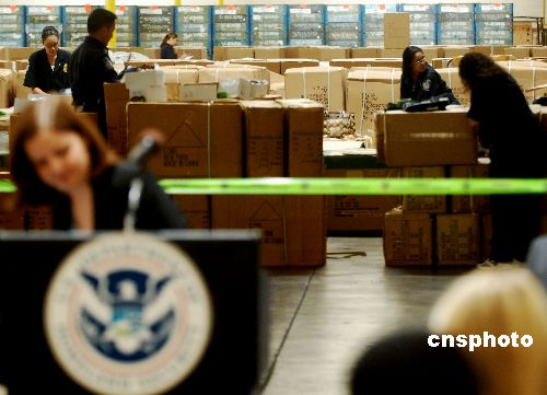 图:美国打击假冒汽车零部件高清图片