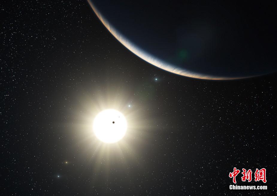 【转载】科学家发现与太阳系相似星系(高清图) - 展望曙光 - 展望曙光