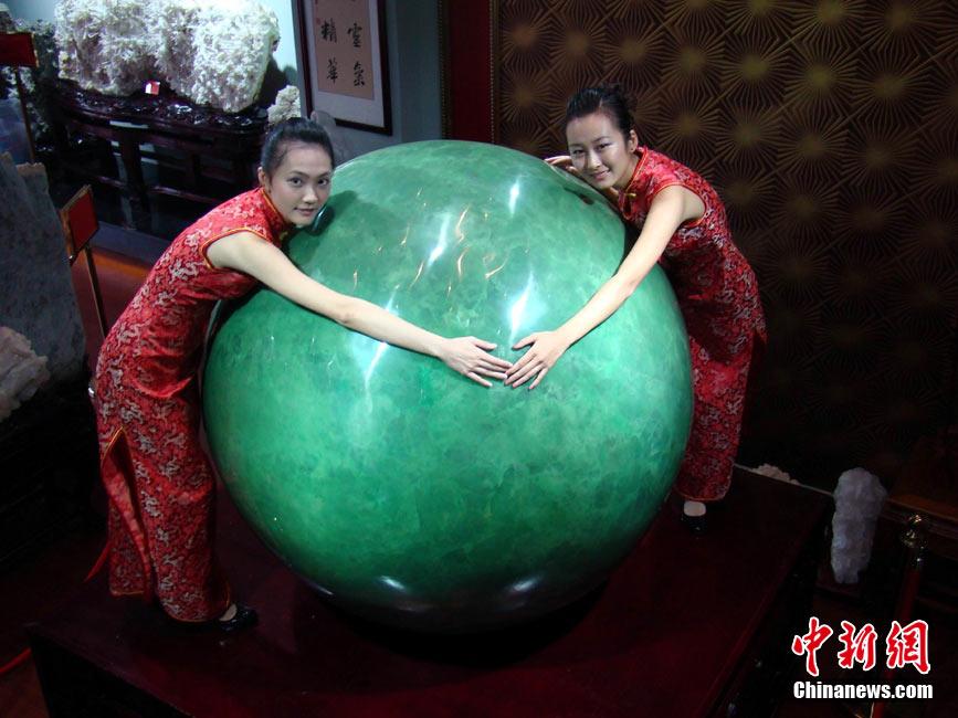 世界最大夜明珠在中国海南亮相 - 紫涵带刺的玫瑰 - 男人就是难人