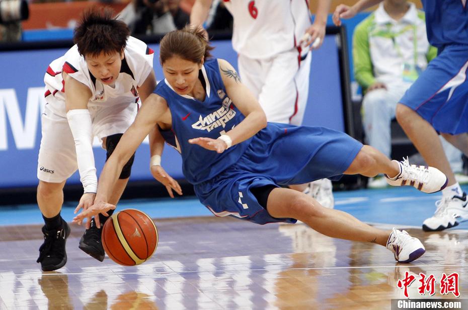 中国女篮战胜韩国夺冠