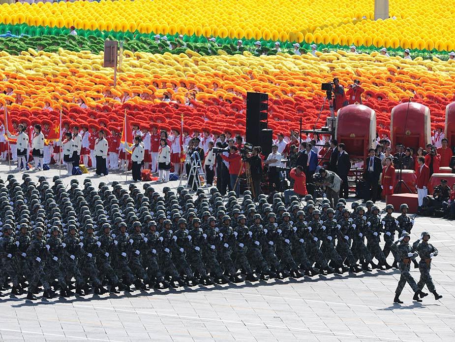 甲子阅兵部分图片 - 啄木鸟 - 迎中秋  庆国庆