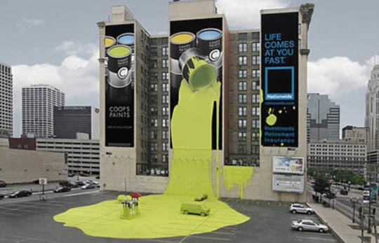 吸人眼球的创意广告 令人拍案叫绝(组图)