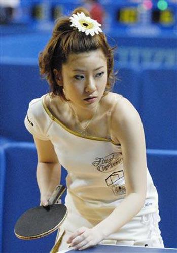 日本流行美女+乒乓球揭秘福原爱的好美女(图的街拍姐妹我图片