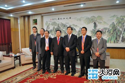 河南省副省长史济春接见参加华合论坛华侨代表