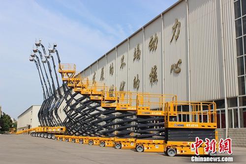 新产业发新力徐工高空作业平台超亿元增幅145%