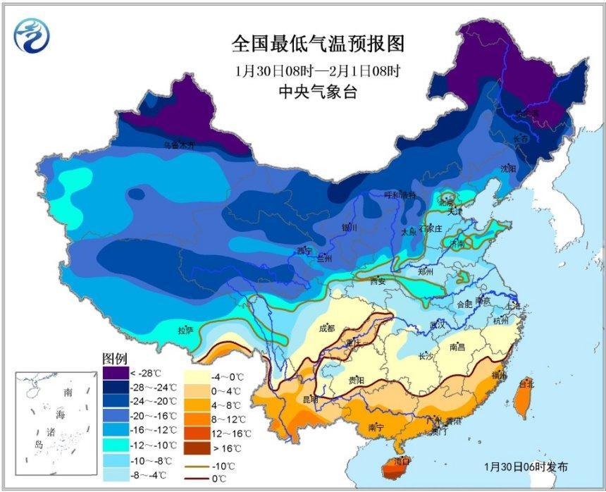 气象台发布寒潮预警 济南气温将持续偏低状态