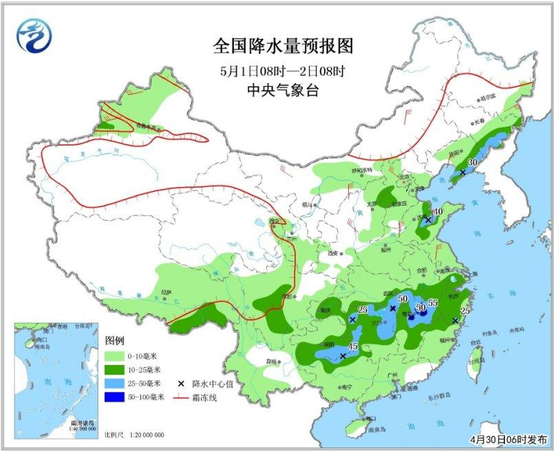 中东部将迎较大范围降水 华北北部等有扬沙或浮尘铁梨花下载