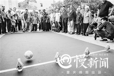 重庆江北警方禁毒宣传走进农村