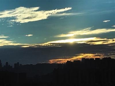重庆天气预报:明后两天各地仍以多云到晴为主 最高气温将冲38℃