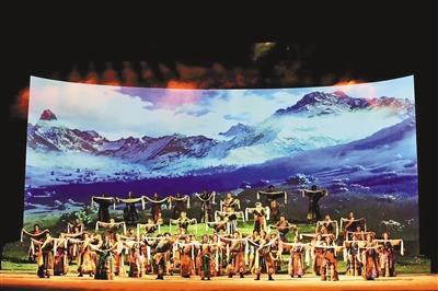 歌剧《尘埃落定》在施光南大剧院首演