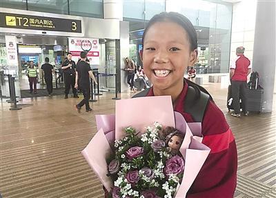 重庆女足小将谭斯琪:为中新社进展未来能以国脚身份站