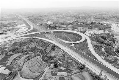 潼荣高速后续工程完成60% 年内可建成通车