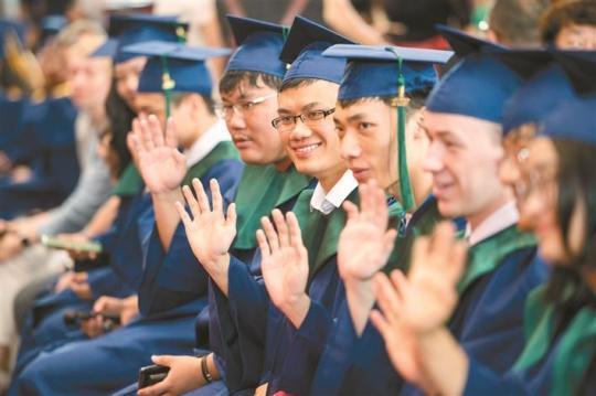 深圳北理莫斯科大学首批 联合培养硕士研究生毕业