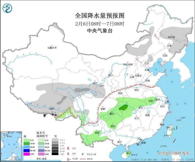 北京河北等地升温 湖南贵州等地出现大雾